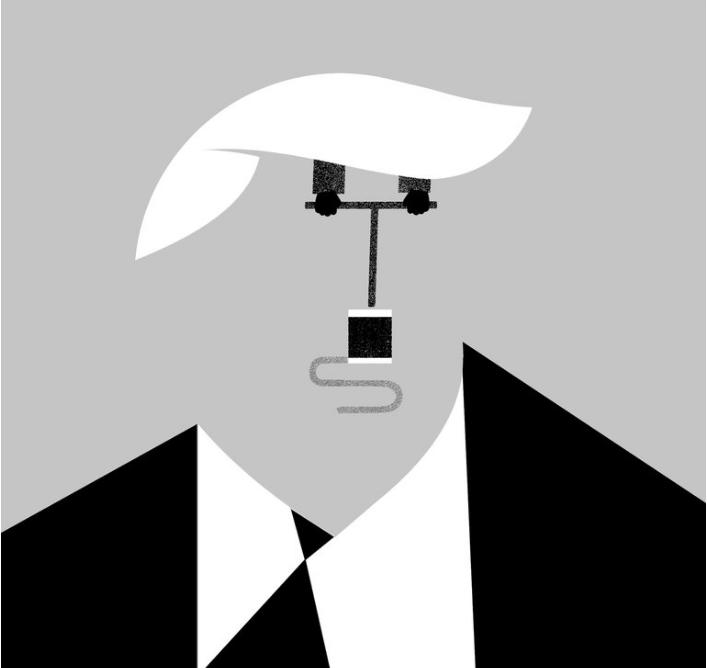 Trump es una carga explosiva a punto de estallar
