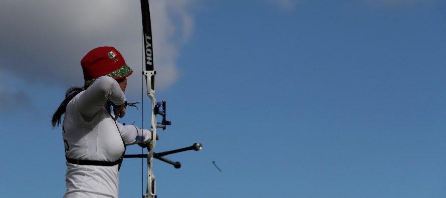 Se le escapa la medalla a Alejandra Valencia en tiro con arco