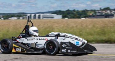 Se rompe el récord de aceleración para un auto eléctrico, en Suiza