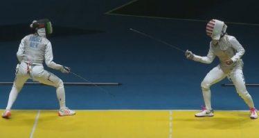 Esgrimista Nataly Michel es eliminada en los Juegos Olímpicos de Río