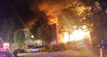 Incendio en edificio de departamentos de Maryland deja dos muertos