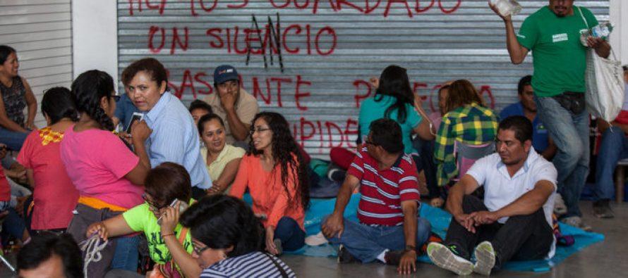 Se aplicó descuento en la nómina a profesores faltistas en Oaxaca