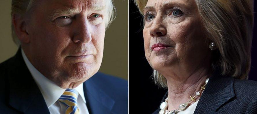 Aumenta la preferencia de voto para Hillary Clinton sobre Donald Trump