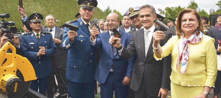 Programa de desarme capitalino recaudó más de 24 mil armas