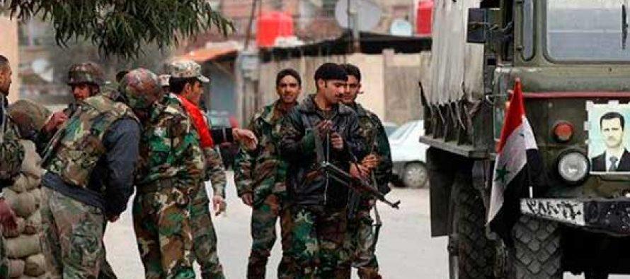 Militares sirios afirman que mataron a 100 terroristas