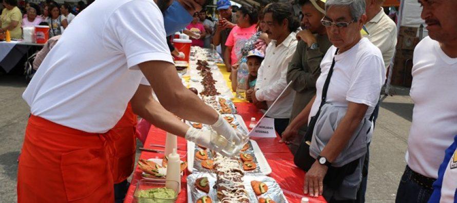 Iztapalapa celebra su Feria de la Enchilada