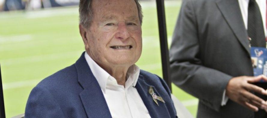 Ex presidente George H. W. Bush votará por Hillary aunque no sea de su partido
