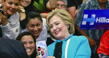 Hillary Clinton tiene asegurado el voto latino en cinco estados clave