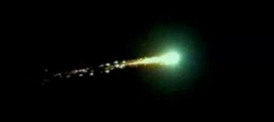 Meteorito ilumina el cielo de Merlo, en Argentina