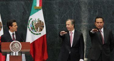Videgaray sale de Hacienda y lo releva Meade; Enrique Miranda va a Sedesol