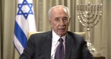 Falleció Shimon Peres, estadista en favor de la paz, el más veterano de la política israelí