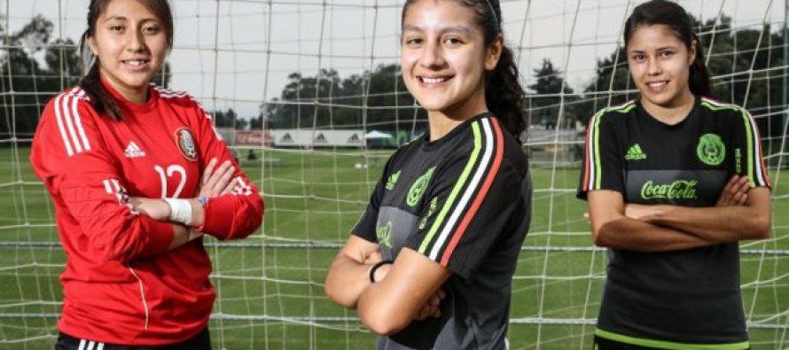 Selección mexicana golea en su primer partido del Mundial femenino Sub-17