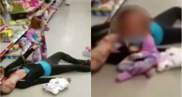 Niña tratando de reanimar a su madre drogadicta se convierte en video viral