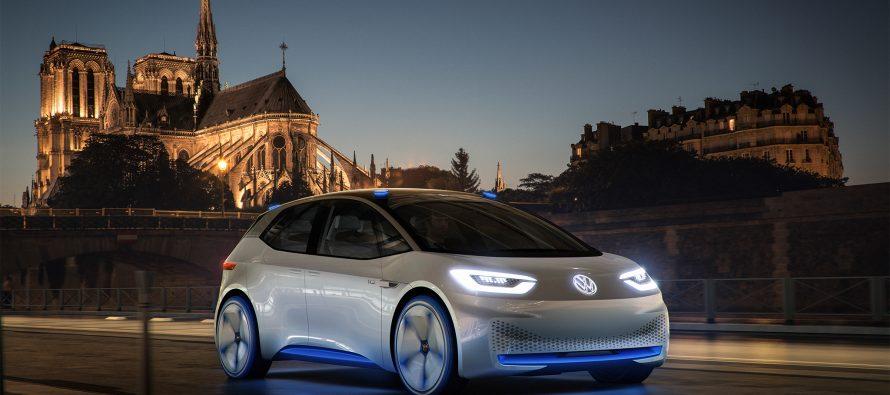 Volkswagen presentará en París auto eléctrico prototipo para 2025