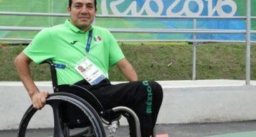 Edgar Navarro gana plata en los 400 metros T51 de Paralímpicos de Río