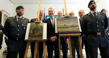 Recuperan dos pinturas de Van Gogh con valor de 100 millones de dólares