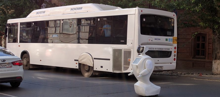 Noticia de robot fugado en Rusia se vuelve viral en redes