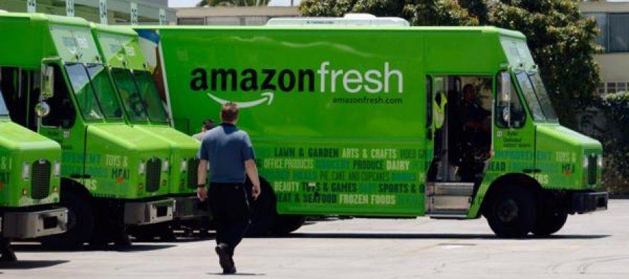 Amazon planea construir tiendas para vender productos perecederos