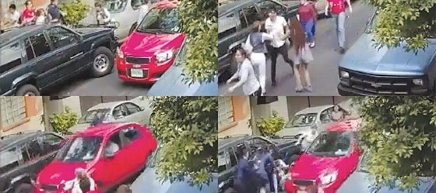 Atrapan a conductor que arrolló a personas en Azcapotzalco