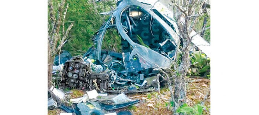 Fallecen dos militares tras caer su helicóptero en Tamaulipas