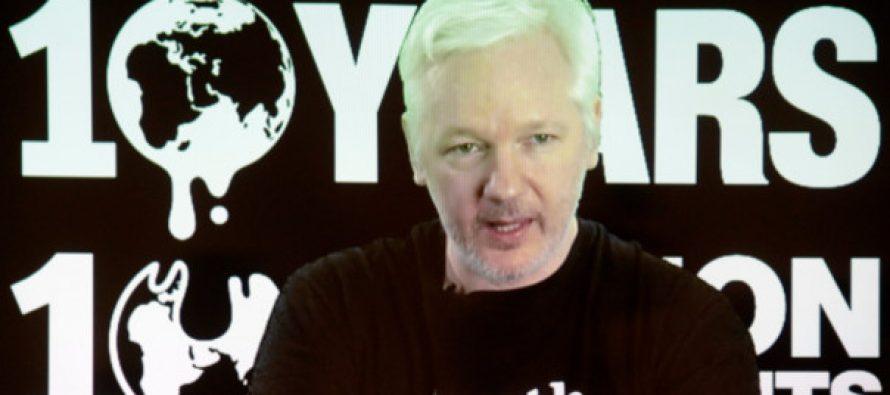 """WikiLeaks dará a conocer """"material significativo"""" antes de elecciones en EU"""