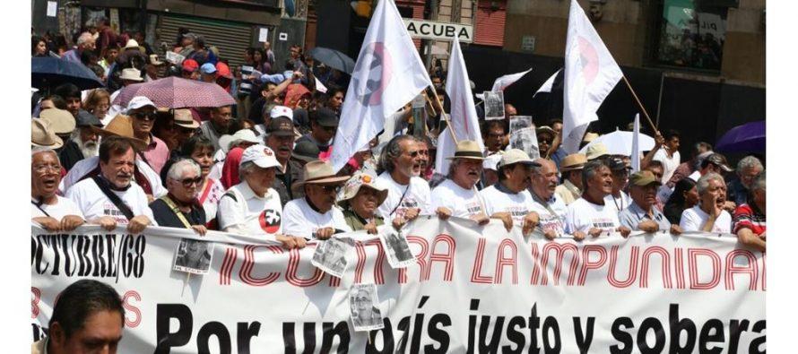 Saldo blanco en la marcha conmemorativa del 2 de Octubre