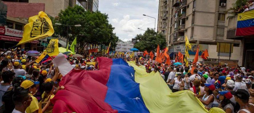 Oposición de Venezuela se prepara para ejercer la desobediencia civil