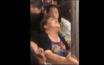 Nuevo video de mujeres peleando en el metro circula en las redes