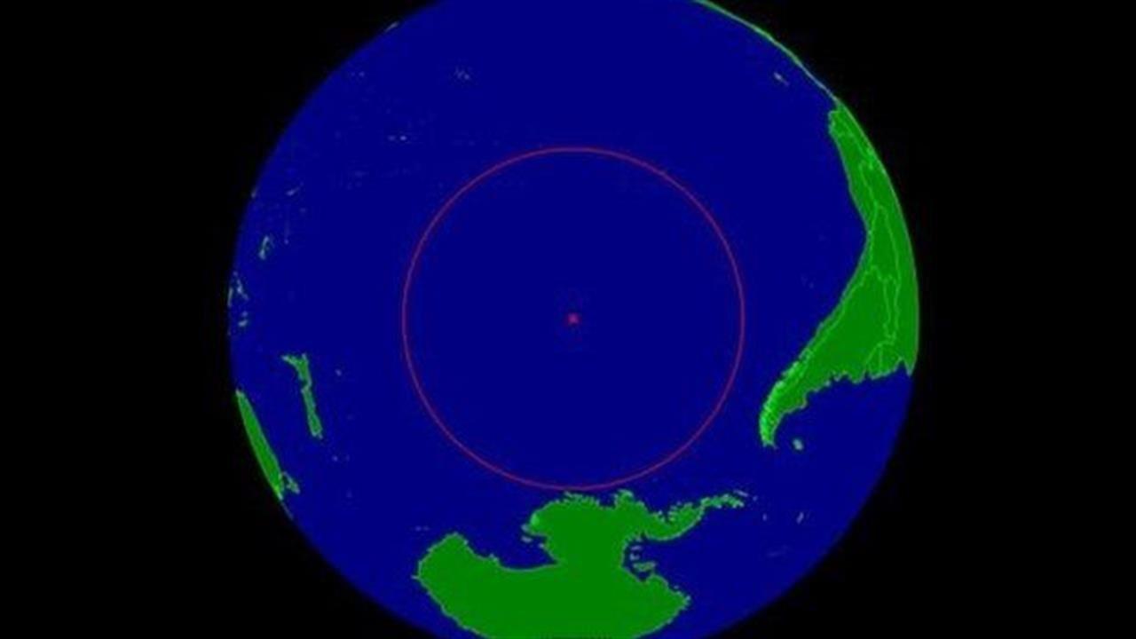 Ubicación geográfica del Punto Nemo