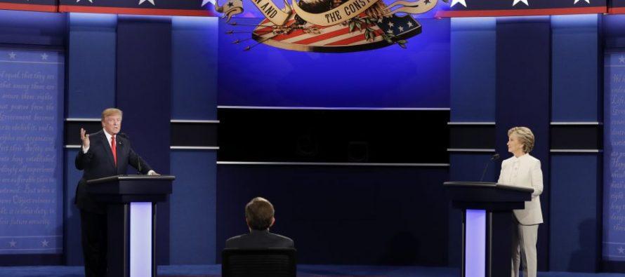 Clinton ganó en el último debate; Trump no dijo si aceptará resultado de elección