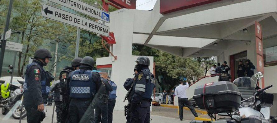 Hampón roba dos sucursales de Banorte, en Polanco, en 15 minutos