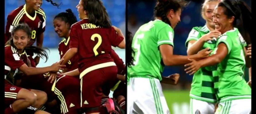 Venezuela elimina 2-1 al Tri femenil de la Copa del Mundo Sub 17