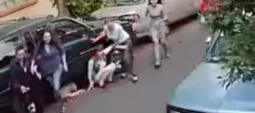 Aveo rojo atropella a varias personas en Azcapotzalco, nuevo video en la red