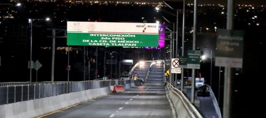 Fue inaugurada la Autopista Urbana Sur; será gratis una semana