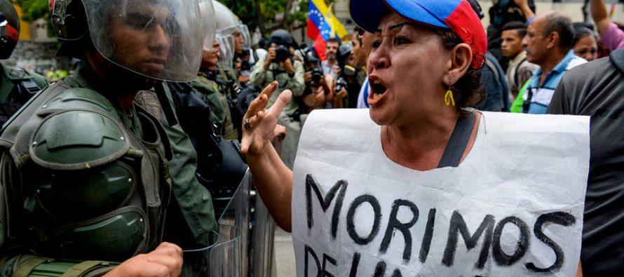 Derechos Humanos pide presión internacional debido a crisis humanitaria en Venezuela