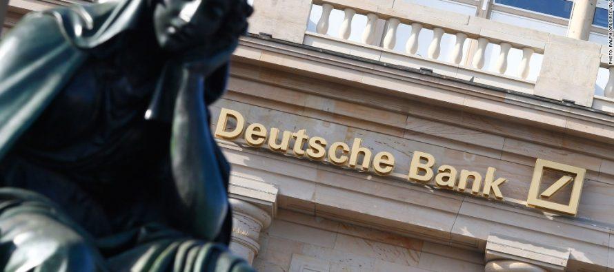 """Deutsche Bank acelera reestructuración y pagará multa con EU """"lo antes posible"""""""