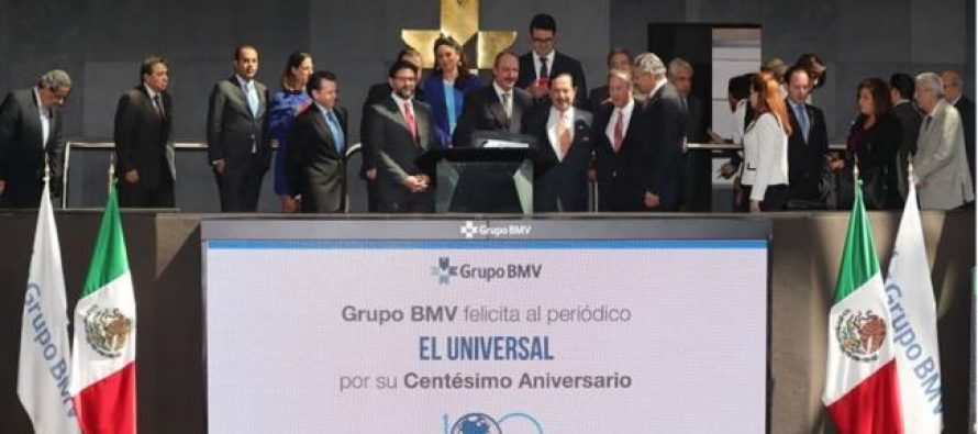 Bolsa Mexicana y El Universal se actualizan para estar vigentes: Meade