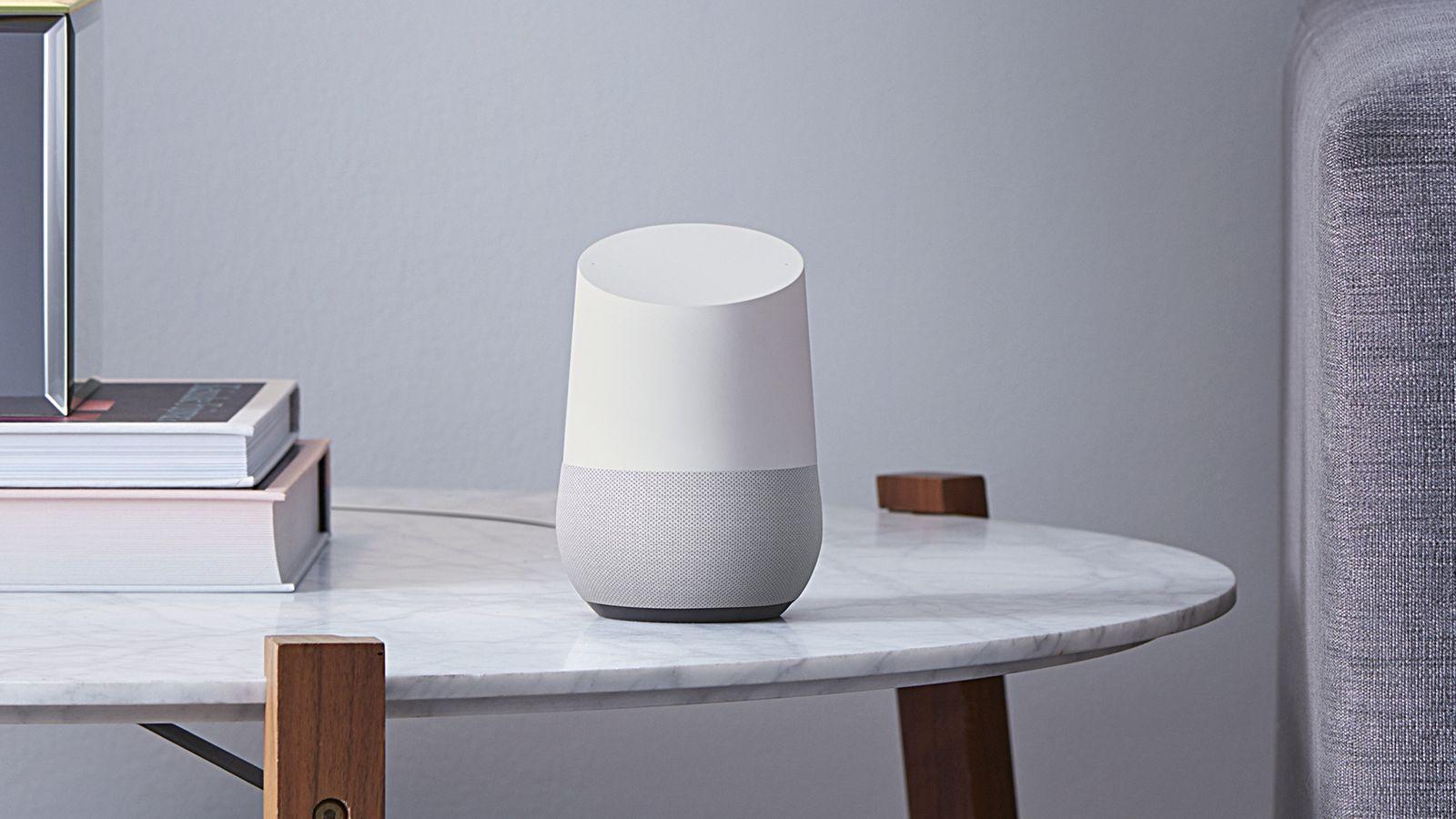Google Home, parlante de asistencia