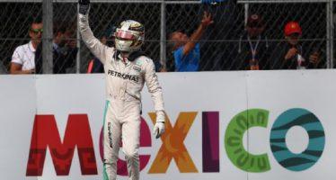 Lewis Hamilton ganó en el Gran Premio de México