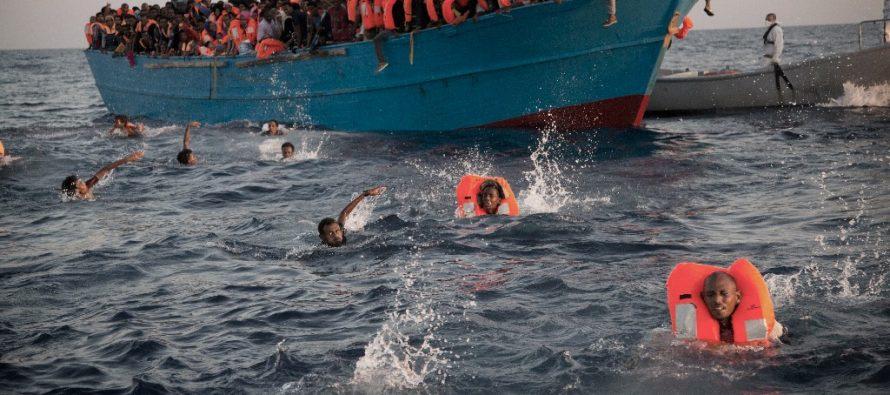 Récord histórico: 3,800 muertos por intentar cruzar el Mediterráneo