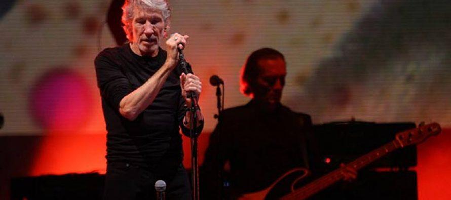 Roger Waters repitió su mensaje crítico en el Zócalo capitalino