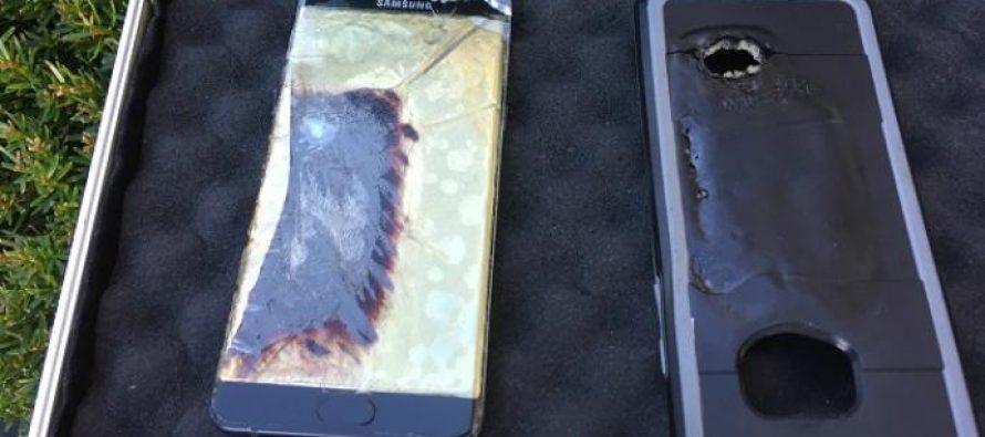 Galaxy Note 7 de Samsung, un modelo que literalmente ¡explota!