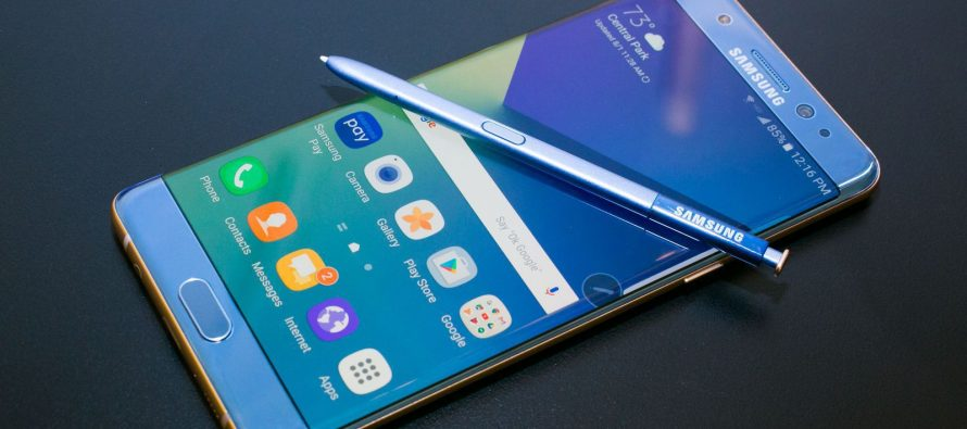 Habrá Galaxy Note 8 para usuarios tras fallas de Galaxy Note 7