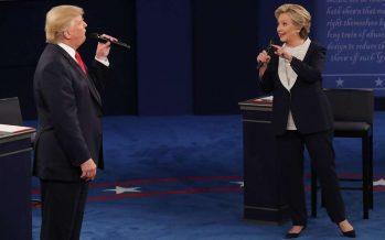Acusaciones mutuas quitan espacio a otros temas en el segundo debate Clinton-Trump