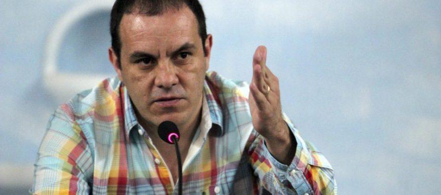 Cuauhtémoc Blanco no será destituido de Cuernavaca