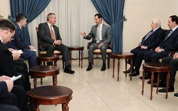 Rusia abre 'corredor verde' para Siria de cooperación económica y comercial