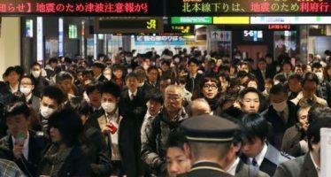Sin muertos ni daños importantes vive Japón tras sismo y tsunami en Fukushima