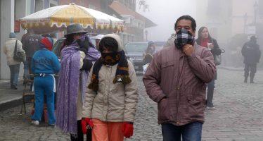 Frente frío número 7 causará vientos y heladas en el país