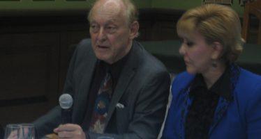 El Club de Periodistas de México ofreció comida de bienvenida al profesor Michel Chossudovsky