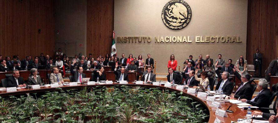 Acuerda el INE financiamiento a partidos por más de 4 mil millones de pesos